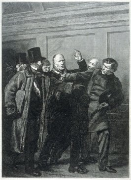M. Dupin Seized by his Fellow-Representatives - from Harper's Weekly, (24 November 1877), p. 921