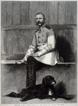 Portrait of Alexander II, Czar of Russia - from Harper's Weekly, (15 December 1877), p. 993