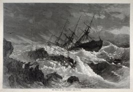 "The Wreck of the ""Atlantic""  from Harper's Weekly, (19 April 1873), p.321"