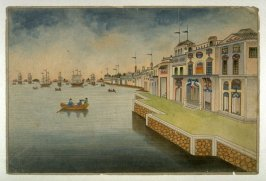 Untitled (Houses on the Waterfront)