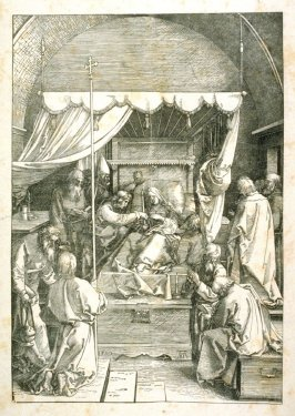Copy after Dürer's Death of the Virgin