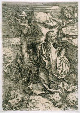 Copy after Dürer's Christ on the Mount of Olives