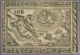 Woodcut Illustration for a Latin Bible