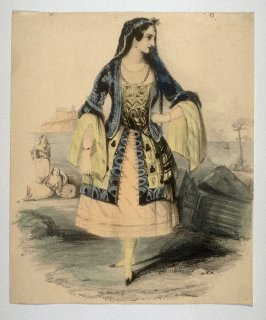 A Young Woman in Spanish attire