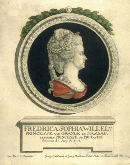 Frederica Sophia Willel, Princess of Orange and Nassau, born Princess of Prussia