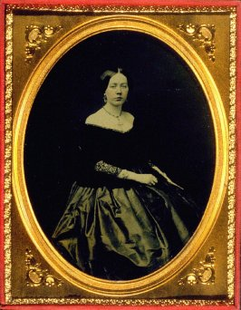 Portrait of Mrs. John M. Tucker (Helena M. Van Cleef, Mother of Emily Tucker)