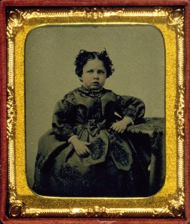 Portrait of Emily Tucker at age four