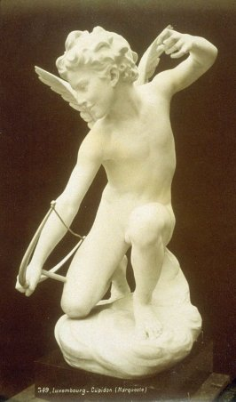 Photograph of Cupidon - by the sculptor Laurent Honoré Marqueste (French, 1848-1920) from the Musée du Luxembourg