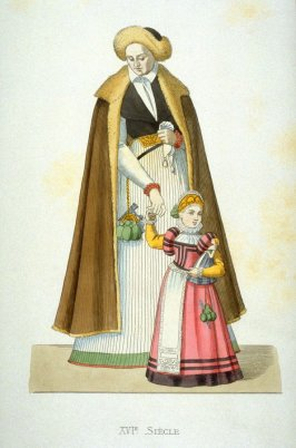 16th-century Silesian Woman & Child