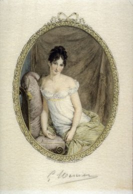 Mme Recamier, after Girard's portrait of 1803?