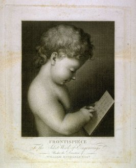 Frontispiece in the book, [Buchanan's Gallery], an untitled collection of engravings primarily from Select Work of Engravings (London: Historic Gallery, 1813-14)]