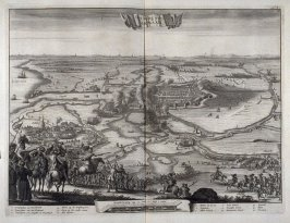 The Siege of Alkmaar - Pl.10 from: Netherlands 1566-1672