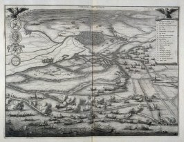 The Liberation of Leyden - Pl.13 from: Netherlands 1566-1672