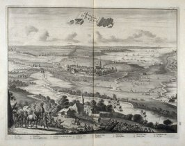 The Siege of Woerden - Pl.14 from: Netherlands 1566-1672