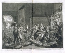 Horrible Cruelty of the Spaniards at the Sacking of Antwerp, 1576 - Pl.16 from: Netherlands 1566-1672