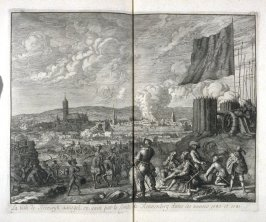 The Village of Steenwijk Besieged in Vain by the Count of Rennenberg in the Years 1580 and 1581 - Pl.19 from: Netherlands 1566-1672