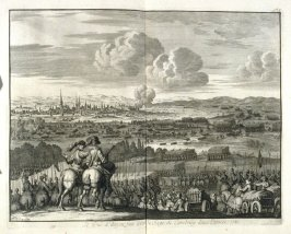 The Duke of Anjou Lifting the Siege of Cambray in the year 1581 - Pl.20 from: Netherlands 1566-1672