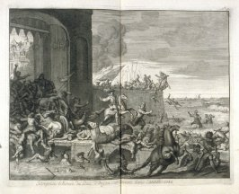 The Duke of Anjou's Undertaking Stranded at Antwerp, in the year 1583 - Pl.21 from: Netherlands 1566-1672