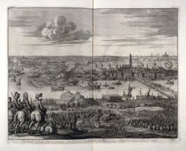 Bommel Besieged by Admiral Mendoza, Liberated by Prince Maurits, in the year 1599 - Pl.39 from: Netherlands 1566-1672
