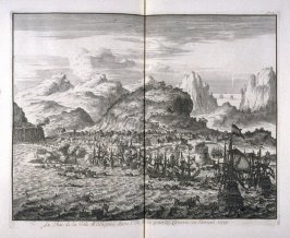 Seizure of the city of Allegona on the Island of Grand Canary, in the year 1599 - Pl.40 from: Netherlands 1566-1672