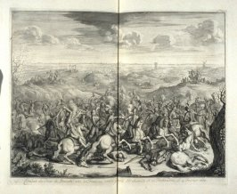 Combat of The Lord of Breauté against Gerard Abrahamsz - Pl.41 from: Netherlands 1566-1672
