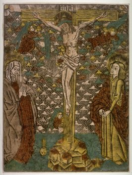 Christ on the Cross with the Virgin Mary and St. John