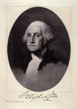 Portrait of George Washington - from the Portfolio Portraits of the Presidents (Twenty-five)
