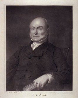 Portrait of Quincy Adams - from the Portfolio Portraits of the Presidents (Twenty-five)