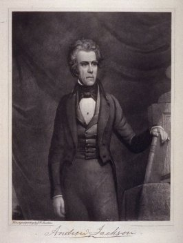 Portrait of Andrew Jackson - from the Portfolio Portraits of the Presidents (Twenty-five)