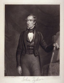 Portrait of John Tyler- from the Portfolio Portraits of the Presidents (Twenty-five)