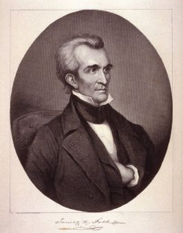 Portrait of James Polk- from the Portfolio Portraits of the Presidents (Twenty-five)