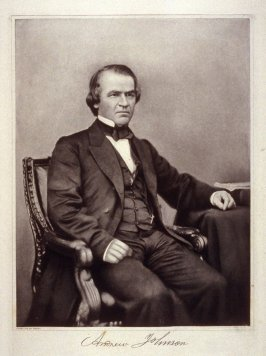 Portrait of Andrew Johnson - from the Portfolio Portraits of the Presidents (Twenty-five)