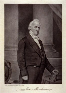 Portrait of James Buchanan - from the Portfolio Portraits of the Presidents (Twenty-five)