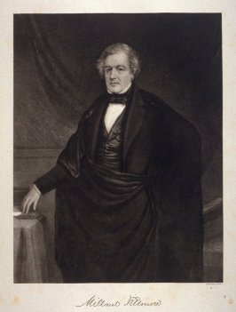 Portrait of Millard Fillmore - from the Portfolio Portraits of the Presidents (Twenty-five)