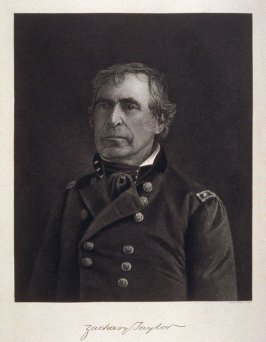Portrait of Zachary Taylor - from the Portfolio Portraits of the Presidents (Twenty-five)