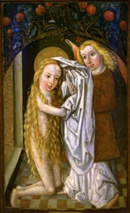 St. Agnes Receiving Garment from the Angel