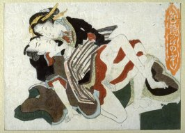 One from a group of shunga prints