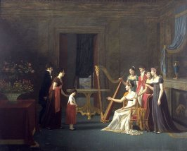 Presentation of a Young Girl to the Empress Josephine?