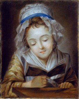 Untitled (Young Girl Reading a Book)