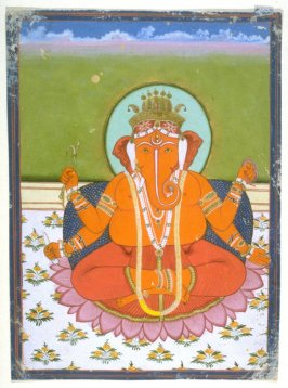 Ganesha, son of Shiva and Parvati