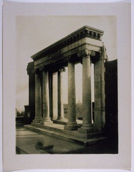 """Ruins of Towne Mansion on Nob Hill (""""Portals of the Past"""")"""