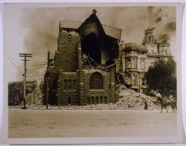 St. Luke's Episcopal Church, Van Ness & Clay (San Francisco Earthquake)