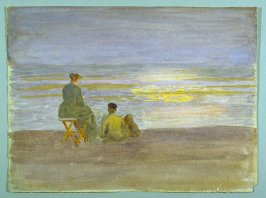 Recto: Man and Woman on the Beach