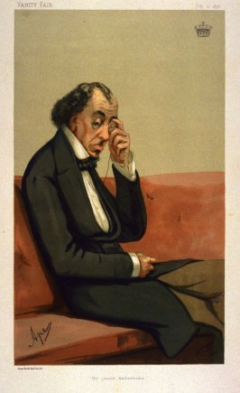 """The Junior Ambassor"" (Benjamin Disraeli), Vanity Fair, July 2, 1878"