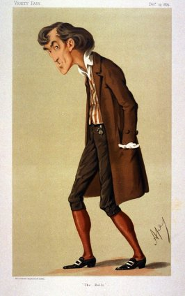"""The Bells"" (Sir Henry Irving) from Vanity Fair, December 19, 1874"
