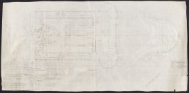 California Palace of the Legion of Honor: Grading Plan, first from a group of nineteen presentation drawings