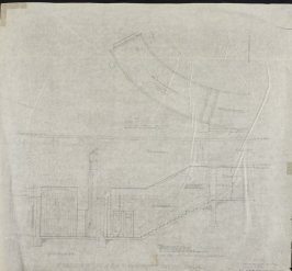 California Palace of the Legion of Honor: Stair #5 to Auditorium, fifteenth from a group of seventy architectural study drawings