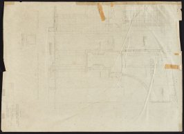 California Palace of the Legion of Honor: Detail of Arch, twenty-sixth from a group of seventy architectural study drawings