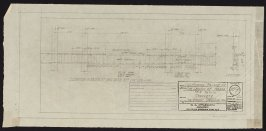 California Palace of the Legion of Honor: Basement Spandrel Wall, thirty-seventh from a group of seventy architectural study drawings