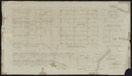 California Palace of the Legion of Honor: Boiler Room, Transformer Room, and Pump House, forty-ninth from a group of seventy architectural study drawings